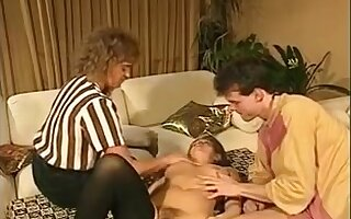 Dirty sex games in vintage old young fucking video