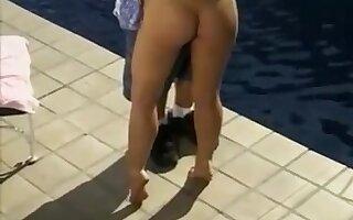 Tabitha Stern poolside fuck