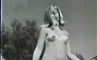 Vintage Sexy Hairy Nudists at Pool