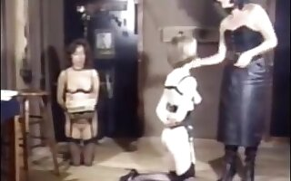 dominant-bitch tortures slaves
